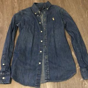 Ralph Lauren polo jean shirt